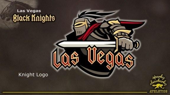 Las Vegas Knight concept logo [photo: sparky chewbarky]