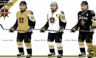 Las Vegas Black Knights Concept Jersey