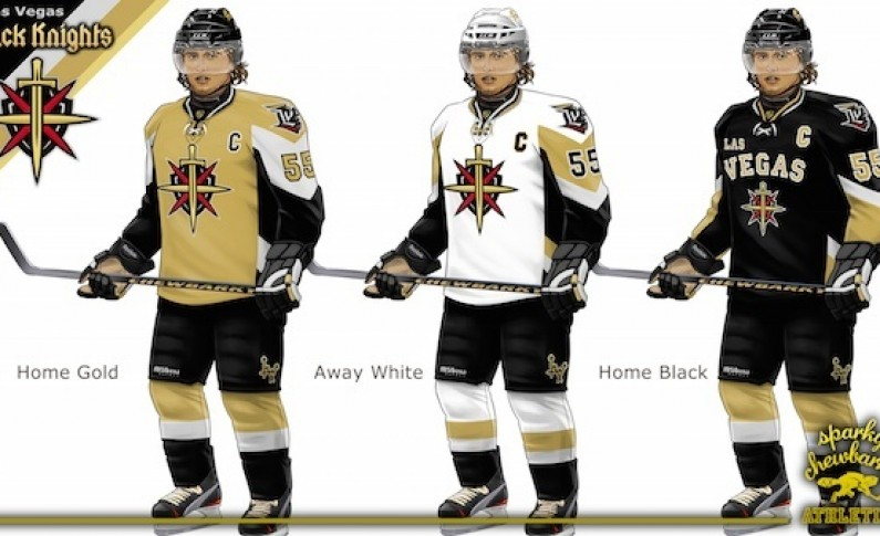 new concept 8243b 22995 Las Vegas Black Knights Concept Jersey