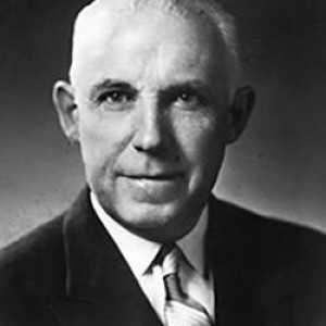 NHL president Clarence Campbell.