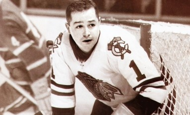 50 Years Ago in Hockey - Hall Leads Hawks Past Wings