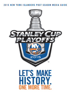 2014-15 Playoff Guide - New York Islanders