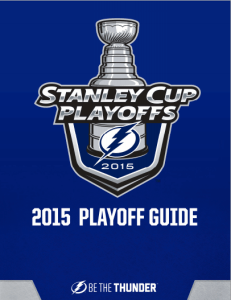 Tampa Bay Lightning Playoff Guide