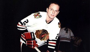 Doug Mohns gave Chicago a 3-0 lead in the first period.