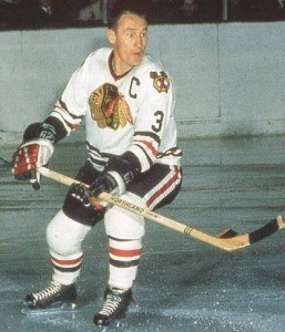 Pierre Pilote was the key player for Chicago.