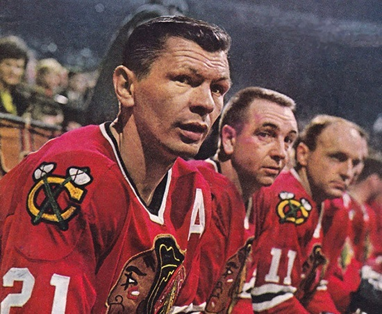 Mikita Blackhawks captains