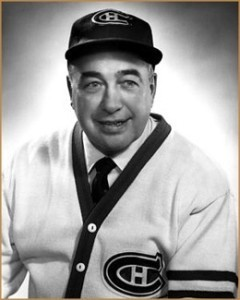 Toe Blake, first coach with six Cup wins.