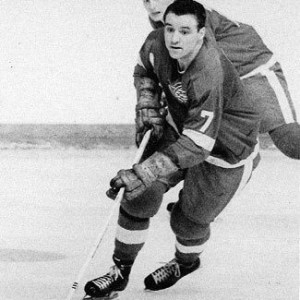Norm Ullman notched his 25th of the season for Detroit.