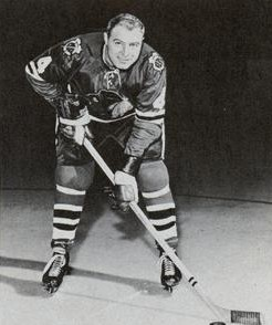 Elmer Vasko thought the Olympia ice was bad for game one.