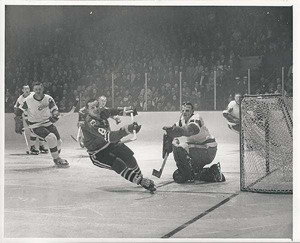 Terry Sawchuk in the 1963