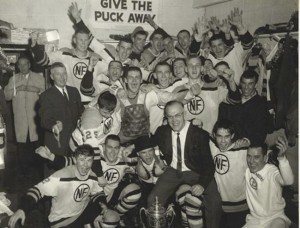 The 1965 Memorial Cup Champion Niagara Falls Flyers.