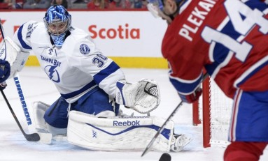 Q & A with Ben Bishop of the Tampa Bay Lightning