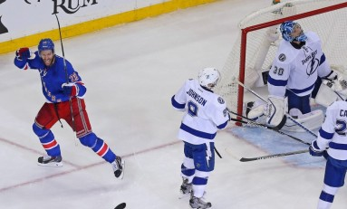 Less Is Moore As Rangers Take 1-0 Series Lead