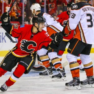 Calgary Flames' phenom Johnny Gaudreau visits Dallas December 17. (Sergei Belski-USA TODAY Sports)