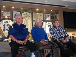 Left to right: Bryan Lewis, Ron Wicks, Bruce Hood