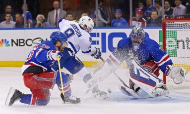 Lightning Strikes New York; Series Tied at 1