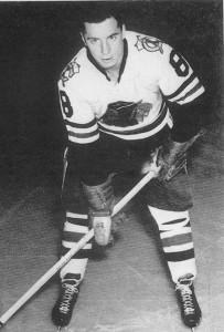 Balfour as a rookie with Chicago.