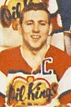 Oil Kings captain Bob Falkenberg was carried off on a stretcher.