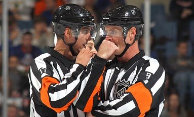 A Referee's Path to the NHL Can Be Winding