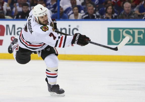 (Kim Klement-USA TODAY Sports) After weighing all of the options, Seabrook still stands out as the best fit for Edmonton because of his all-around game and championship experience.