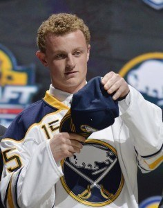 Buffalo Sabres forward Jack Eichel
