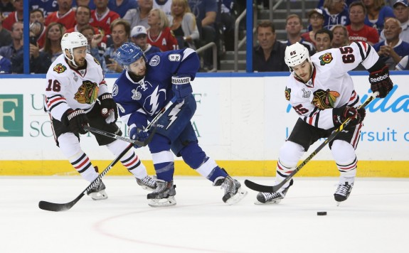 The Blackhawks and Lightning will meet for Game 6 in Chicago tonight.