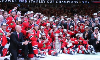 Chicago Blackhawks Organization Pulls Off Amazing Hat Trick