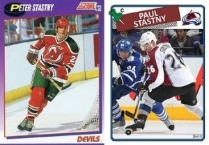 I needed the help of two generations of Stastny
