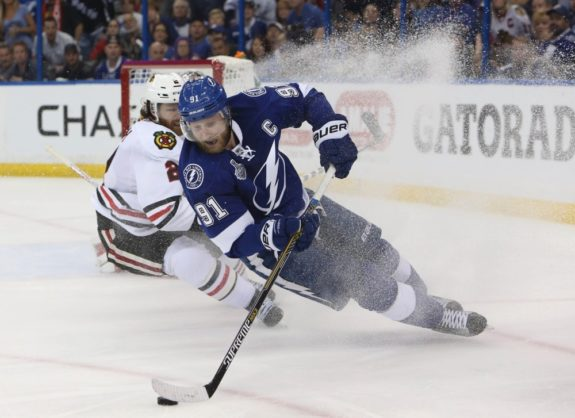 Lightning captain Steven Stamkos (Kim Klement-USA TODAY Sports)