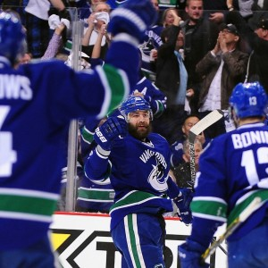 Chris Higgins Vancouver Canucks