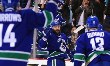 Vancouver Puts Chris Higgins on Waivers