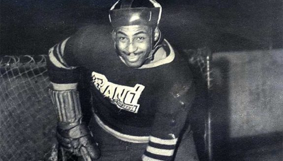 (THW File Photo) Herb Carnegie, quite possibly the best player to never play in the NHL, should be in the Hockey Hall of Fame.