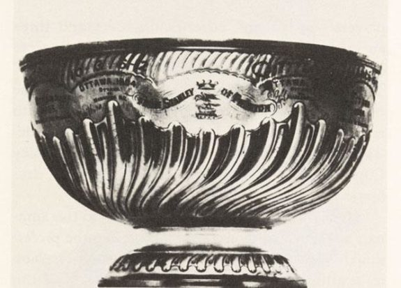 Stanley Cup Dominion Hockey Challenge Cup First Earliest Known Oldest Hockey Movie Film Footage Thomas Edison William Heise 1898