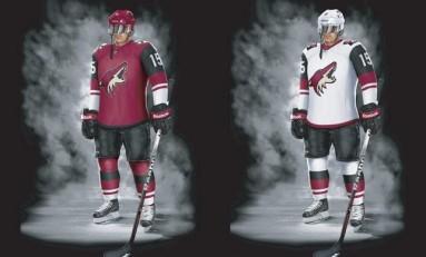 Arizona Coyotes Unveil New Uniforms