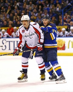 Ovechkin and Oshie