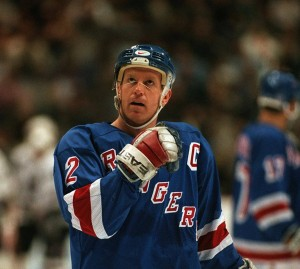 Former- New York Rangers defenseman Brian Leetch