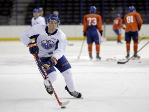 Connor McDavid will make his maiden voyage to Boston on December 14. (Erich Schlegel-USA TODAY Sports)