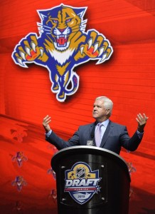 Florida Panthers GM Dale Tallon has assembled a talented, deep roster. (Steve Mitchell-USA TODAY Sports)