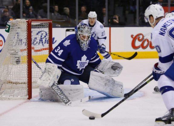 James Reimer, Maple Leafs, NHL