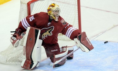 Can Louis Domingue Take Mike Smith's Job?