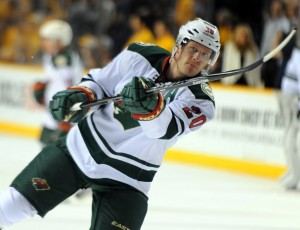 Ryan Suter: The definition of cool. (Christopher Hanewinckel-USA TODAY Sports)