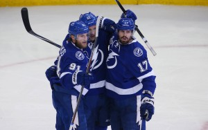 The Tampa Bay Lightning are re-finding their Stanley Cup form. (Reinhold Matay-USA TODAY Sports)