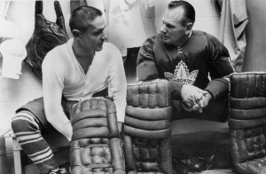 Johnny Bower would have welcomed Terry Sawchuk into the game.