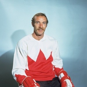Bill White with Team Canada 1972.