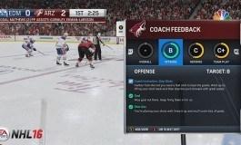 NHL 16 Be A Pro Details