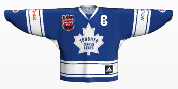 phaneuf front 3rd jersey logos on
