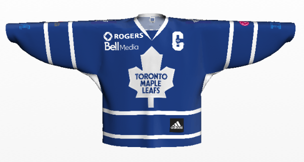Maple Leafs Minute  NHL Jerseys   Corporate Sponsorship 66bd04390