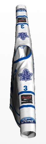 phaneuf white front phaneuf white arm logos leafs away ... b107967de