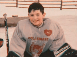 Carey Price began playing hockey around the age of five. (hockeyplayersaskids.tumblr.com)