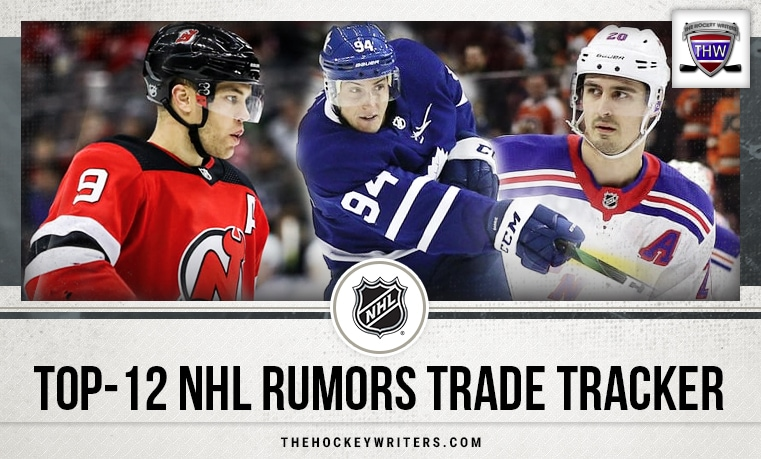 Thw S Top 12 Nhl Trade Rumors Tracker Updated